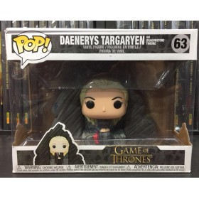 GAME OF THRONES DAENERYS TARGARYEN ON DRAGON STONE THRONE POP!